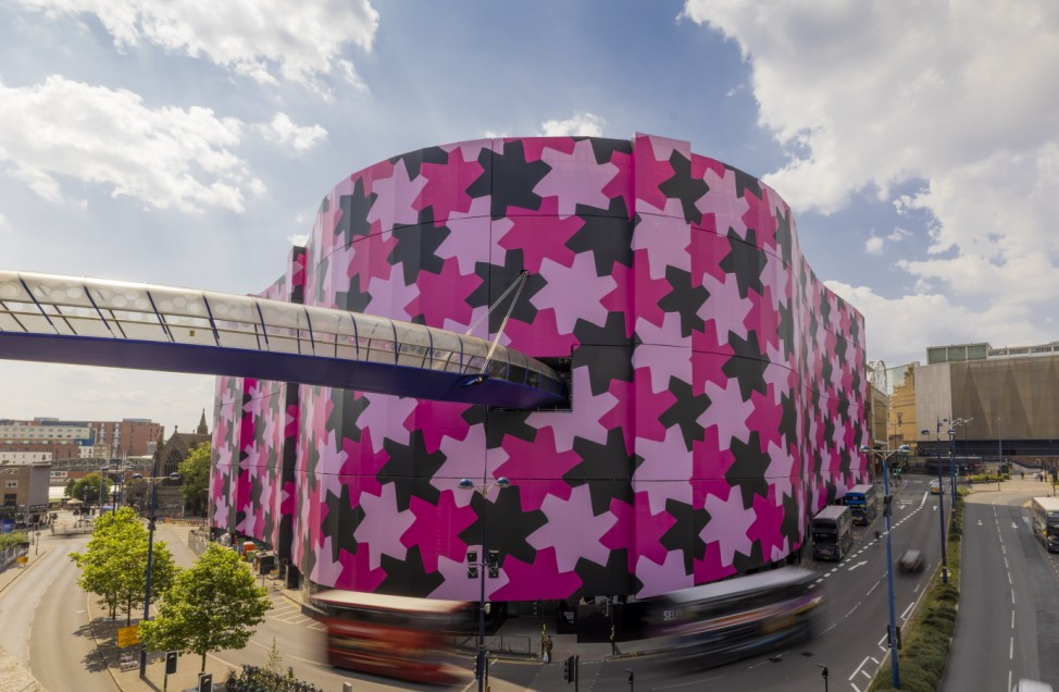 BESTPIX - Selfridges Changes The Birmingham Skyline With New Art Installation By Osman Yousefzada On The World's Largest Canvas
