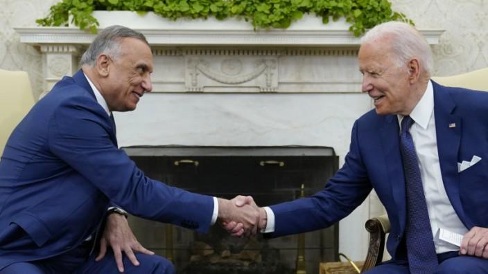 USA und Irak: Joe Biden und Mustafa al-Kadhimi