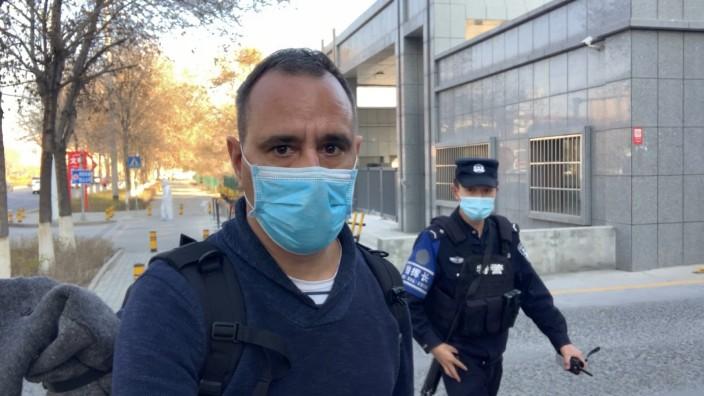 China: Journalist verfolgt und bedroht: Mathias Bölinger war für die Deutsche Welle in Zhengzhou, als er für einen BBC-Reporter gehalten wurde.