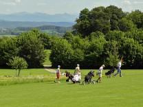 Golfspieler in Wolfratshausen, 2009