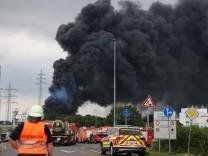 """Explosion in Chemiepark: """"Ein tragischer Tag für Leverkusen"""""""
