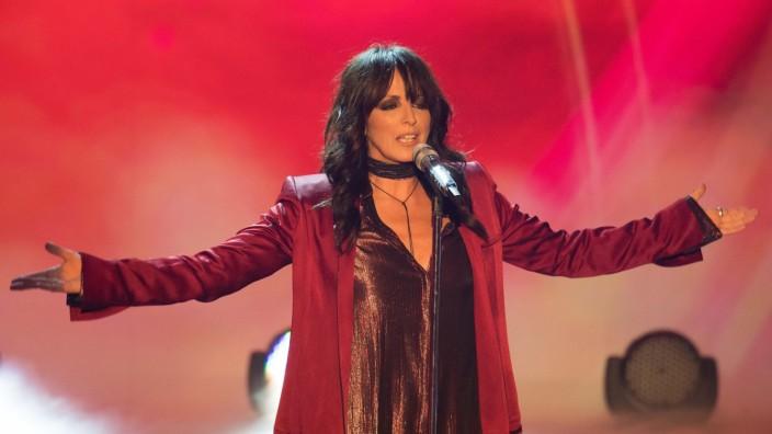 Sängerin Nena bei einem Konzert