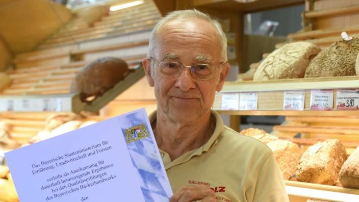 Einer der besten in Bayern: Bereits zum vierten Mal ist die Bäckerei von Thomas Polz für ihr Brot mit dem Bayerischen Staatsehrenpreis geehrt worden.