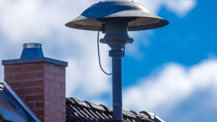 Alarmsirene auf Hausdach