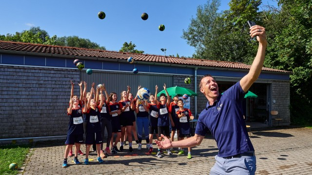 Schulsport-Stafette Markt Schwaben