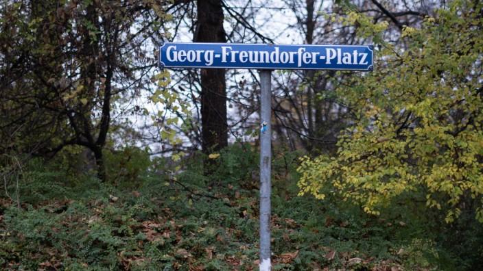 Schwanthalerhöhe: Nazi oder nicht? Nach dem umstrittenen Musiker ist ein Platz in der Schwanthalerhöhe benannt.