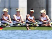 Rowing - Women's Quadruple Sculls - Heats