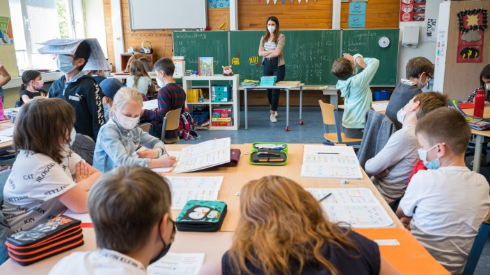 Corona und Schule: Präsenzunterricht in Grundschule