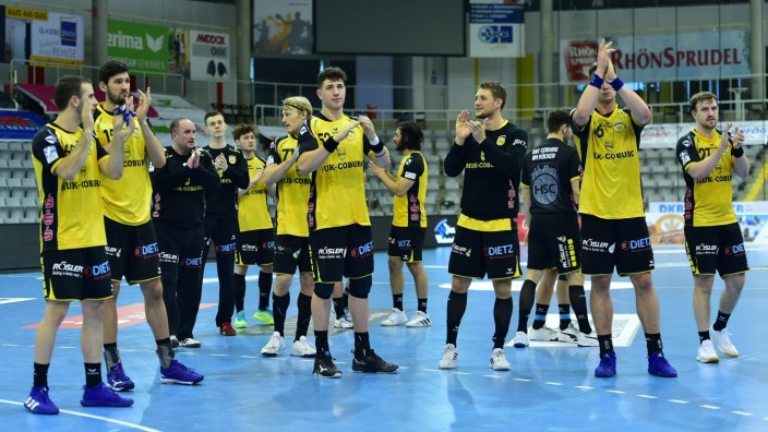 11.04.2021 - Handball - 1. Bundesliga LIQUI MOLY HBL - Saison 2020 2021 - 25. Spieltag: HSC 2000 Coburg - Rhein Neckar; HSC Coburg