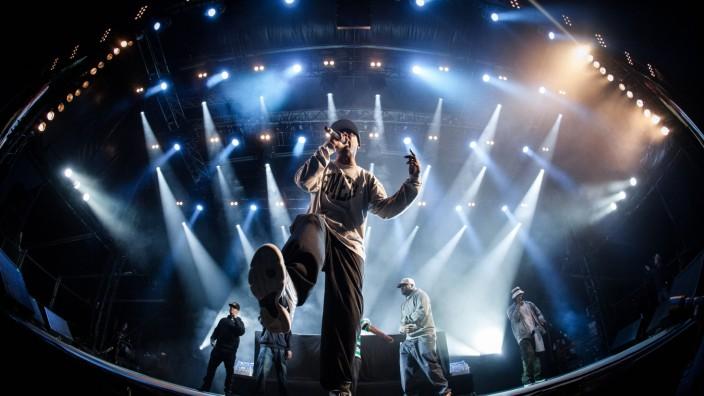 Hip-Hop: Wu-Tang Clan bei einem Konzert in Dänemark