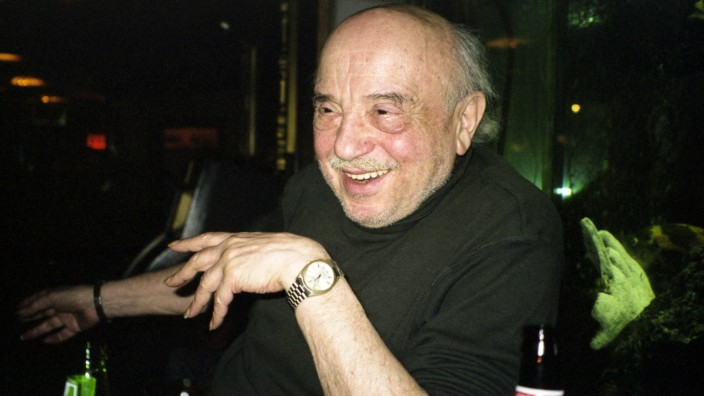 Boris Lurie, Manhattan Restaurant, April 2002 Boris Lurie * 18. Juli 1924 in Leningrad, Sowjetunion; 7. Januar 2008 in N