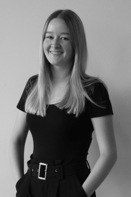 Blattmacher 2020/2021: Leonie Hauck, 22, ist die Chefredakteurin von Eigenleben. Bei den beruflichen Schulen kam die Redaktion der Klara-Oppenheimer-Schule Würzburg auf den zweiten Platz.