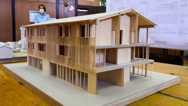 Haus der Vereine Architkturmodelle TUM