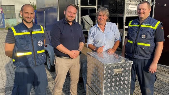 THW Fürstenfeldbruck begibt sich ins Katastrophengebiet