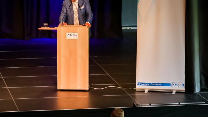 PUCHHEIM: Wolfgang Bosbach spricht vor CSU Ortsverband