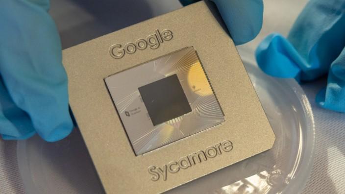 Übergabe des Google-Quantenprozessors