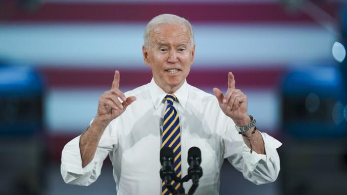 US-Präsident Biden in Pennsylvania