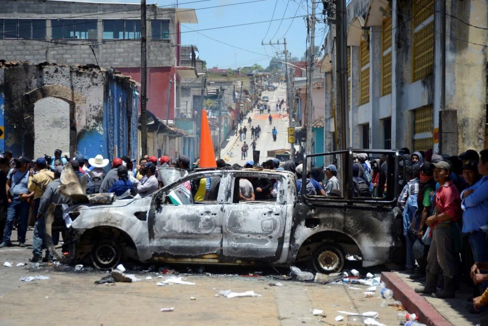 New self-defense militia fights organized crime in Chiapas state, Mexico