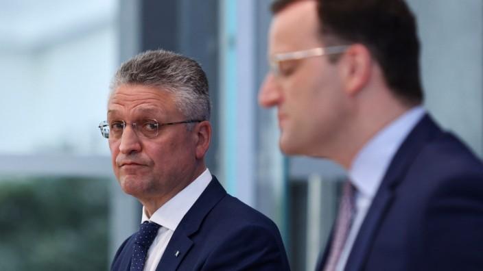 Corona in Deutschland: RKI-Chef Lothar Wieler und Bundesgesundheitsminister Jens Spahn