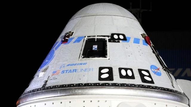 """Nasa: Die Kapsel """"CST-100 Starliner"""" von Boeing sollte an diesem Freitag ohne Astronauten zur Raumstation ISS starten. Das verzögert sich nun."""