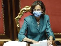 Italiens Justizministerin Marta Cartabia gilt manchen schon als mögliche zukünftige Regierungschefin oder Staatspräsidentin.
