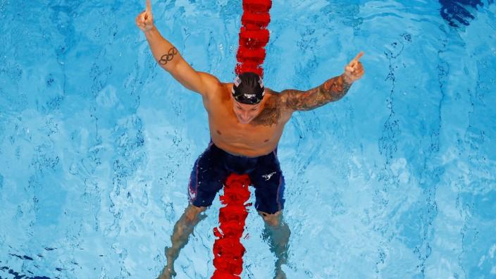 Swimming - Men's 100m Freestyle - Final
