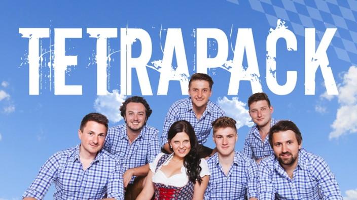 Sinnflut am Freitag: Tetrapack aus dem Landkreis Erding bietet einen Mix aus Pop, Rock, Disco, Evergreens und Bierzeltklassikern.