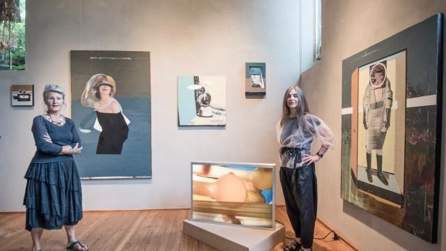 """Ausstellung: Ulrike Prusseit und ihr Gast Patricia Lincke laden in ihr Starnberger """"Schauatelier"""" ein."""