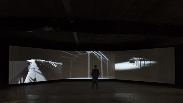 Video-Installation  Nicolas Combarro Maximiliansforum