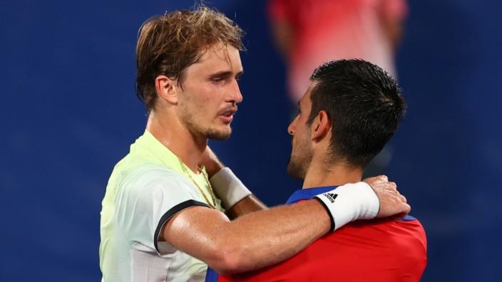 Tennis - Men's Singles - Semifinal
