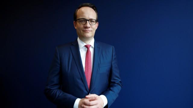 Designated RWE CEO Krebber in Essen