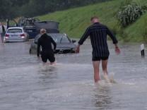 """Wetterbilanz: """"Jahrhundertregen"""" im Juli"""