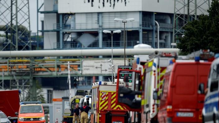 FILE PHOTO: Explosion at Chempark in Leverkusen