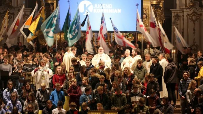 Jugendkorbinian anders: Szenen wie diese in einem überfüllten Dom wird es auch beim Jugendkorbinian 2021 nicht geben.