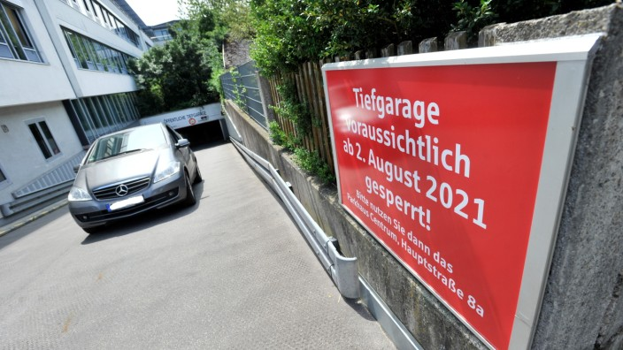 Starnberg: Tiefgarage Sparkassse