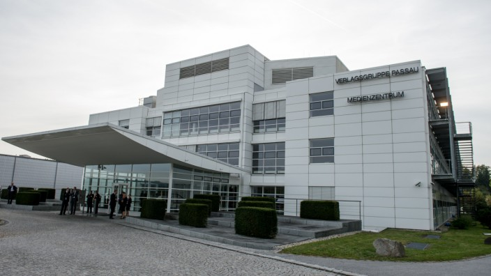 Medienzentrum der Verlagsgruppe Passau