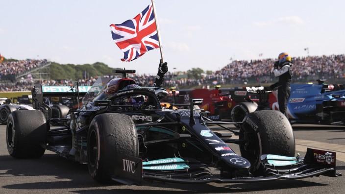 Formel 1 in Ungarn: Lewis Hamilton rammte Konkurrent Verstappen kürzlich von der Strecke.