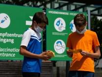 Coronavirus in Deutschland: Immer mehr Jugendliche geimpft