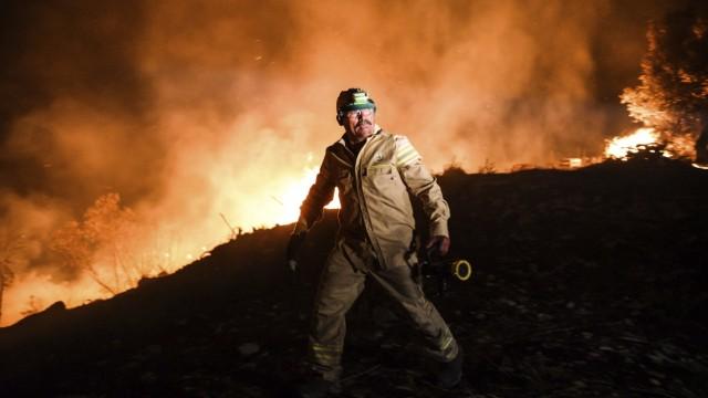 Brände an türkischer Mittelmeerküste