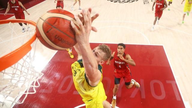 Australia v Germany Men's Basketball - Olympics: Day 8