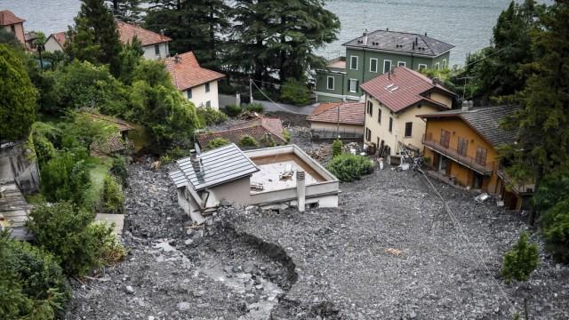 Tempesta sul Lago di Como
