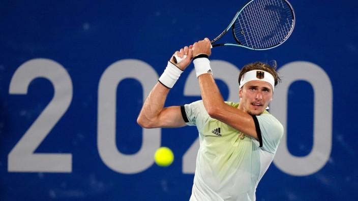 Mandatory Credit: Photo by Dave Shopland/Shutterstock (12238720df) Alexander Zverev - Men s Singles semi-final Tennis,