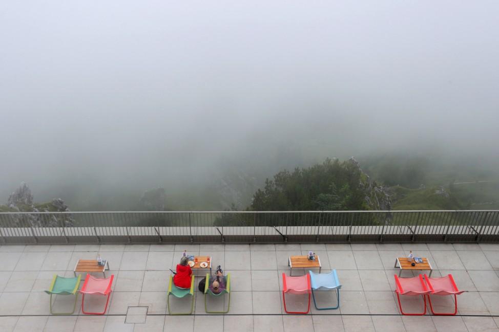 Wetter in den Bergen