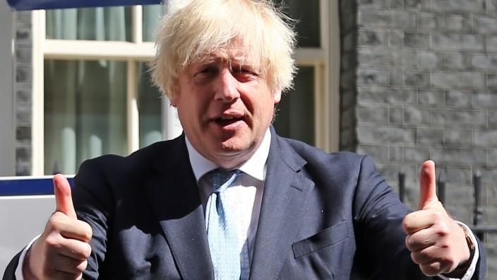 Boris Johnson wird erneut Vater