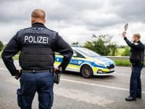 Corona-Einreisekontrollen der Bundespolizei