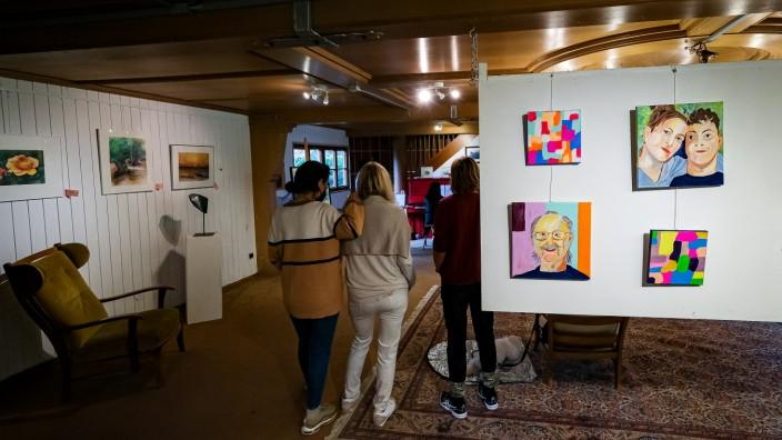 PUCHHEIM: Ausstellung von GröbenArt e.V