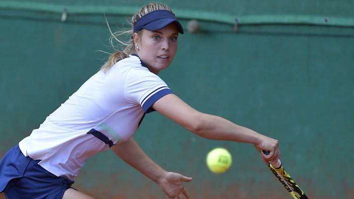 Tennis: An Verena Meliss lag es nicht, dass Luitpoldpark sein letztes Saisonspiel beim TC Bredeney verlor. Die Italienerin gewann ihr Einzel und auch das Doppel an der Seite von Julia Grabher.