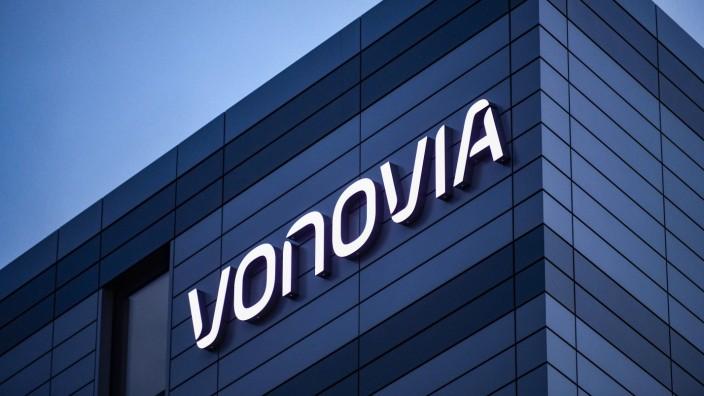 Die Zentrale des deutschen Wohnungsunternehmen Vonovia ist am 09.11.2018 in Bochum zu sehen. Vonovia ist ein deutscher