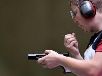Shooting - Men's 25m Rapid Fire Pistol - Final