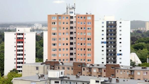 27.05.2021, Berlin - Deutschland. Ein Teil von Spandau ist das Falkenhagener Feld, hier gibt es viele Wohnungen von Vono